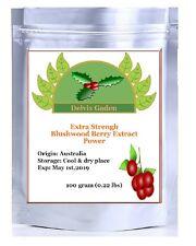 EBC 46 Blushwood Berry Extract powder, 100 grams (100% Rating US Seller)
