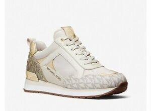 Michael Kors Women's Wilma Trainer Sneakers Shoes Ecru Multi