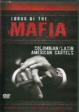 LORDS OF THE MAFIA COLOMBIAN / LATIN AMERICAN CARTELS DVD AN INSIDE LOOK