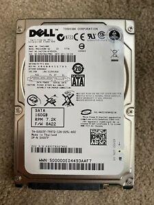 """160GB Dell Fujitsu 2.5"""" SATA II Laptop / Notebook HDD 7200RPM 16MB 9.5mm"""