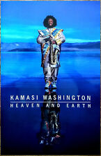 KAMASI WASHINGTON Heaven And Earth 2018 Ltd Ed New RARE Poster Display! Jazz