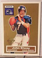 2005 TOPPS TURN BACK THE CLOCK JOHN ELWAY BRONCOS     WM15