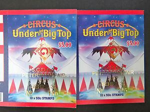 Australian Stamps: 2007 - *Circus* Under the Big Top Booklet - Overprint