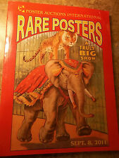 Poster Auction International Rare Posters Sept. 8, 2011 200+ pages Illustrated