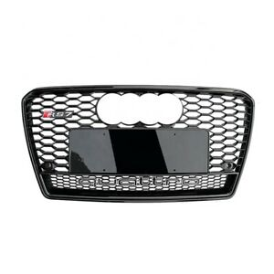 Audi A7 S7 RS7 Style 2011-2015 Front Honeycomb Mesh Grill Grille W/ Quattro