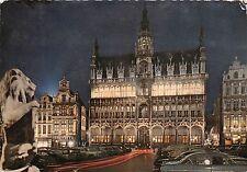 BR14342 Bruxelles Grand Place la maison du roi la nuit  belgium