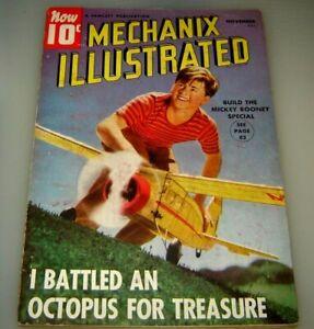 Mechanix Illustrated Magazine - November 1939 - Mickey Rooney Special