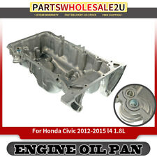 Engine Oil Pan Sump for Honda Civic l4 1.8L 2012-2015 Dormant 264-381 Aluminum