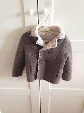 zara baby coat jacket 18-24 months Bonpoint style