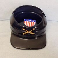 Vintage Civil War Kepi Hat Ceramic Ashtray Union Blue Styled by Shafford JAPAN
