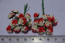 Escala 1:12 20 miniaturas Roses Dollshouse Flores, Jardín (RW)