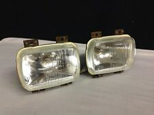 BRAND NEW PAIR OF TALBOT SUNBEAM & LOTUS SERIES 1 CIBIE HEADLIGHTS NOS