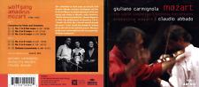 CD SET MOZART GIULIANO CARMIGNOLA VIOLIN CONCERTOS CLAUDIO ABBADO