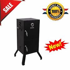 Barbecue Meat Smoker Vertical Charcoal BBQ Grill Cooker Patio Outdoor Backyard