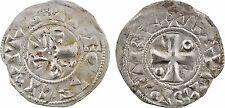 Troyes, Thibaut II, denier - 123