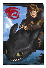 How To Train Your Dragon Seascape Fleece Blanket Bed Throw