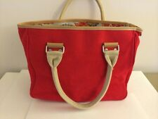 Red Small Tote Bag Fun & Basics Exterior: 100% Algodon