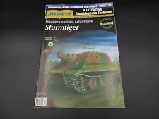 Paper Model Kit SturmTiger Assault Tank Answer