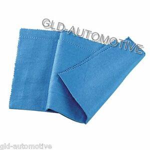 N° 2 Panni microfibra - Panno Antiappannante Cotone Blu - Pulizia Vetro Auto