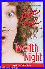 Playbill + Twelfth Night + Sarah Agnew , Randy Harrison, Chuck Cooper, Tom Story