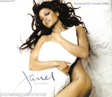 JANET JACKSON - All For You (UK 4 Track Enh CD Single)