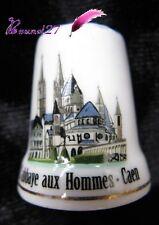 Dé à coudre Thimble Monument Paysage L'ABBAYE AUX HOMMES Ville de CAEN #34/50