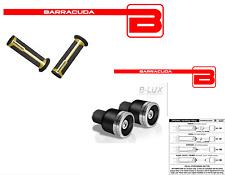 BARRACUDA MANOPOLE ORO + CONTRAPPESI B-LUX ARGENTO per YAMAHA T-MAX 500
