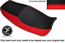 BLACK & RED VINYL CUSTOM FITS KAWASAKI ZX GPZ 1100 E 95-98 DUAL SEAT COVER ONLY