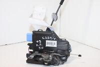 #6243 VW CADDY 2010 LHD FRONT LEFT SIDE DOOR LOCK 3D1837015AP