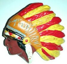 Neal Slide Indian Chief Painted