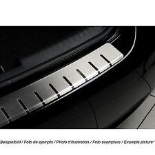 Ladekantenschutz für BMW X3 E83 FL 2007-2010 mit Abkantung Edelstahl 25-3492
