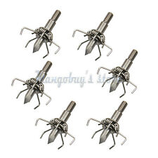 12pcs Archery 100 grain Broadheads Hunting Small Animal Game Judo Arrow Point
