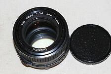 Minolta MD Fixed/Prime f/1.4 Camera Lenses