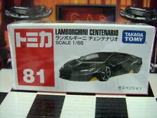 TOMICA #81 LAMBORGHINI CENTENARIO 1/65 SCALE NEW IN BOX