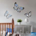 Blue Butterfly Day Wall Art Stencil - Size MEDIUM  - By Cutting Edge Stencils