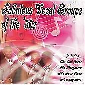 Fabulous Vocal Groups Of The 5, Various Artists, Audio CD, New, FREE & Fast Deli