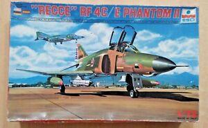 64-9029 ESCI 1/72nd Scale McDONNELL-DOUGLAS RF-4C/E PHANTOM II Plastic Model Kit