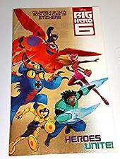 Big Hero 6 - Heroes Unite! Coloring & Activity Book with Over 20 Stickers