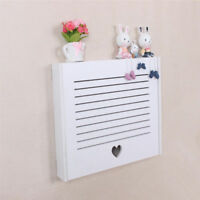 Lovely Composite Board Electricity Meter Box Flip Hiding Storage Box Cover Decor