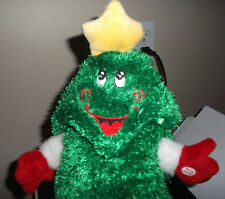 Dandee Dancing Singing Animated Light-Up Plush Rockin' Round the Christmas Tree