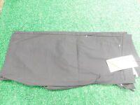 Cross Crystal Women's Stretch Narrow Fit Black Golf Shorts 38 Medium New NWT