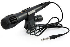 Uni-directional Dynamic Microphone Handheld Wired Professional Mic 6.3mm Karaoke