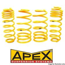 Fits BMW 5 Series E60 520i 525i 530i Exc Touring Apex Lowering Springs -30mm