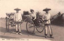 R320737 Lyon. Les Pouss Pouss Chinois. LL. 1001. Postcard