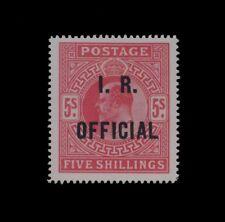 ***REPLICA*** of 1902 Great Britain Edward VII , 5s carmine SG O25