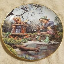 """Hummel Plate """"Signs of Spring"""" by Danbury Mint Plate No Wx5813 - 8"""""""