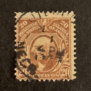U2/91 US Philippines Stamp Scott 248 20 UNH Nice Clean