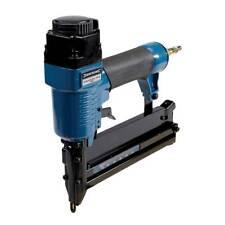 Silverline Aluminium Air Nailer Stapler Nail Gun Tacker 50mm Upholstery/Craft