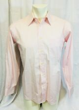 Vintage NWOT Pierre Cardin Pink Dress Shirt Mens 15-32/33 Relaxed Fit