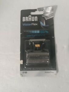 Braun Series 5 51B Foil Cutter Replacement Head Waterflex Shaver Compatible OEM